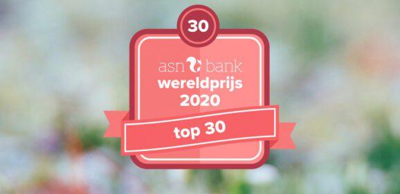 Finalisten ASN Bank Wereldprijs 2020 bekend