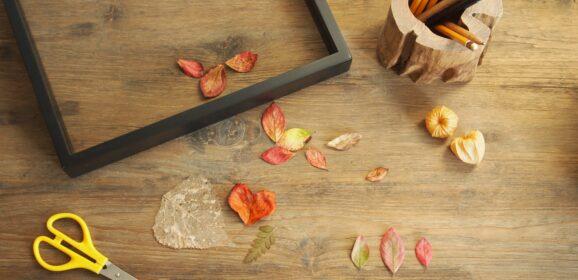 Duurzame herfstdecoraties