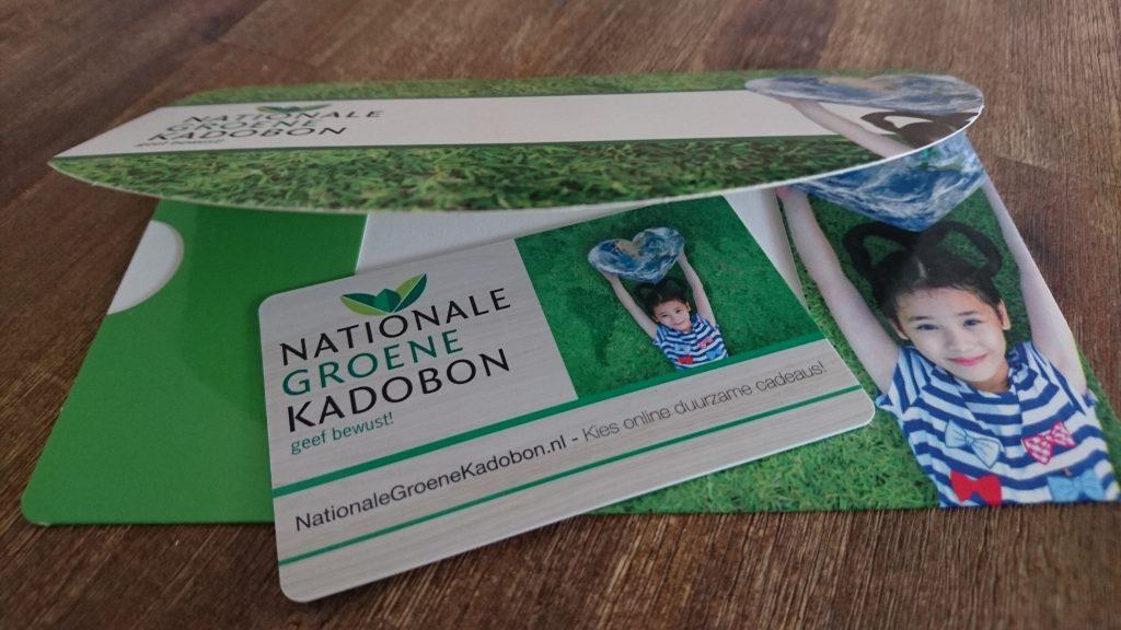 de nationale groene kadobon duurzaamheidskompas eco winactie