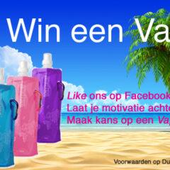 Facebookactie: 'Win een Vapur'