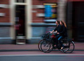 Elektrische fiets van de zaak