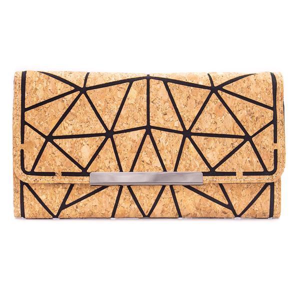 Duurzame kurk portemonnee bij DK Shop van Duurzaamheidskompas