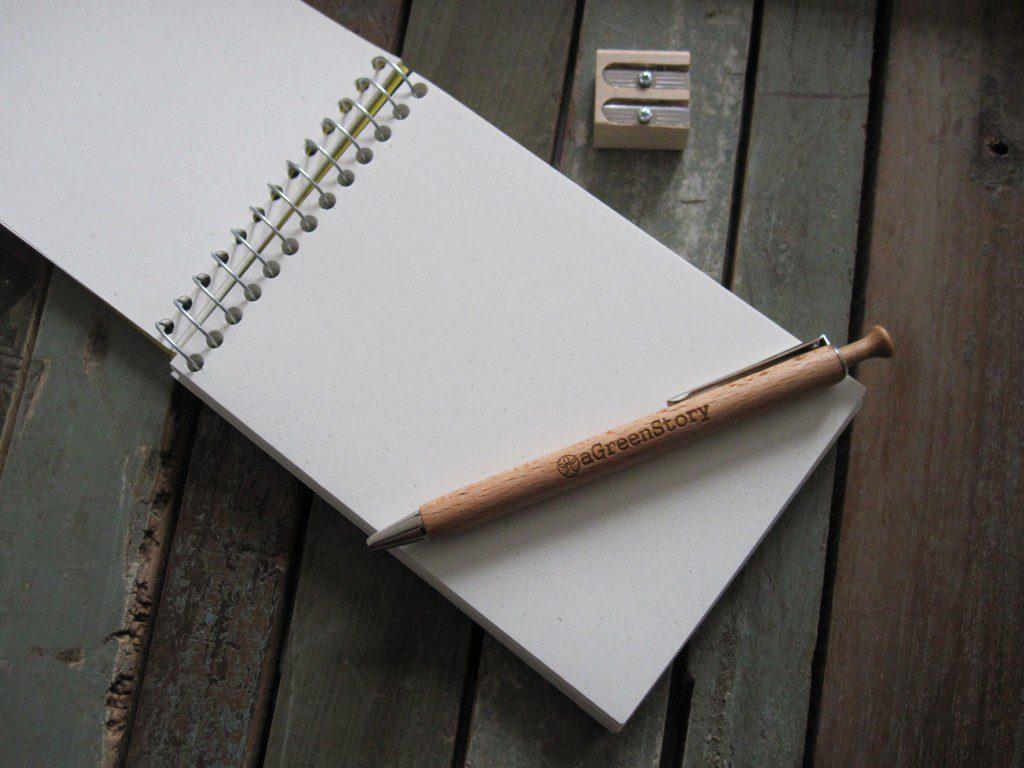 eco schrijfwaren - agreenstory - duurzaamheidskompas