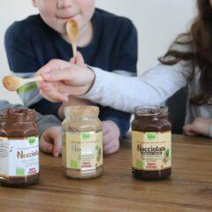 Review: biologische cacao- en hazelnootpasta van Nocciolata