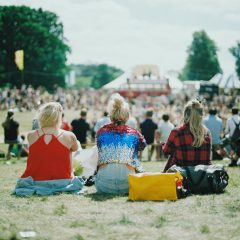 Milieuvriendelijk festivalbandje van hennep