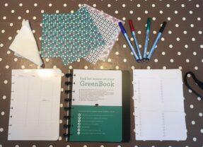 Greenbook bullet journal: let's get organized