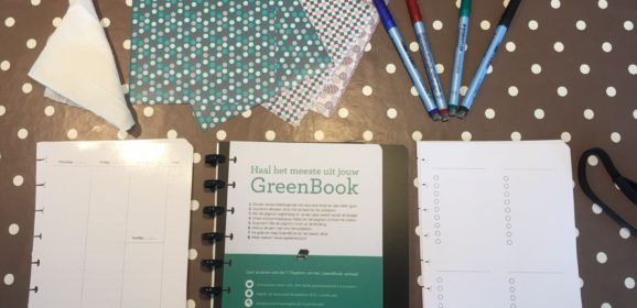 Greenbook bullet journal: let's get organized
