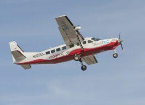 Grootste elektrisch vliegtuig  de lucht in