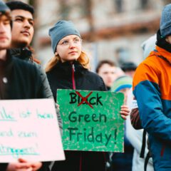 Green Friday als tegengeluid ´koopgekte´Black Friday