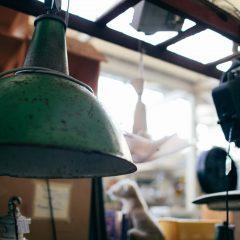Industriëlelampen ineen duurzaam interieur