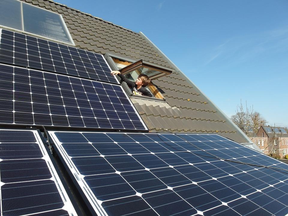 zonnepanelen groene energie duurzaamheidskompas